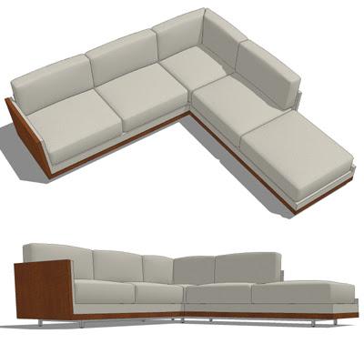 Decca Rottet Corner Sofa 3D Model - FormFonts 3D Models & Textures