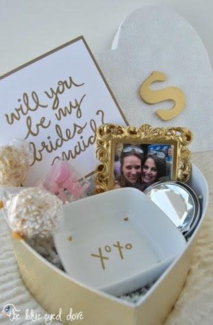 Will You Be My Bridesmaid Delica Bridal