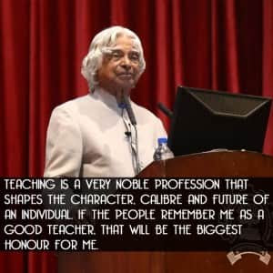Apj Abdul Kalam S Inspirational Quote On His First Death