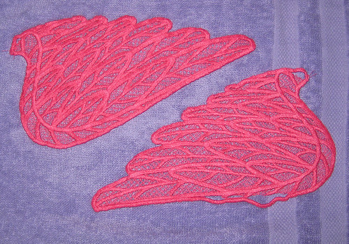 wings drying