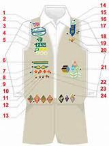 Girl Scout Cadette Vest Images