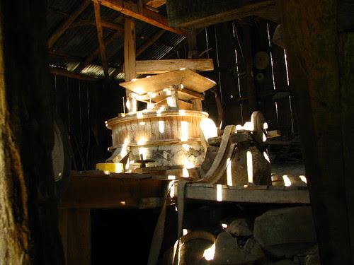 Vista geral do Interior do Moinho