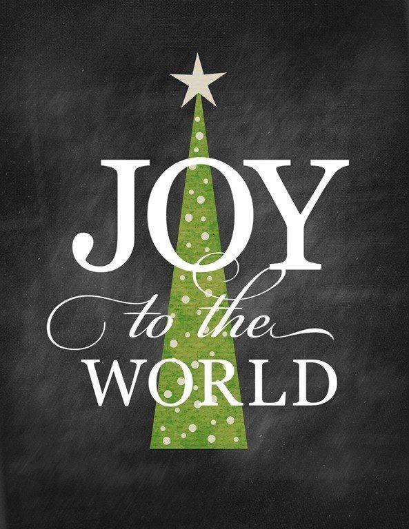 CHRISTMAS WORDS J-O-Y!