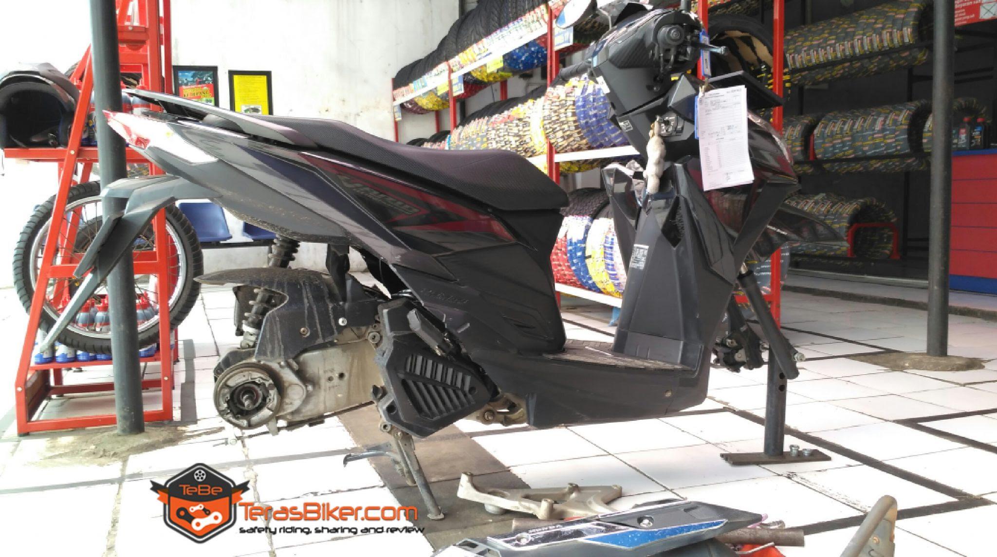 Upgrade Ukuran Ban Var Tech 125 150 ESP Dengan Aspira Premio Terreno