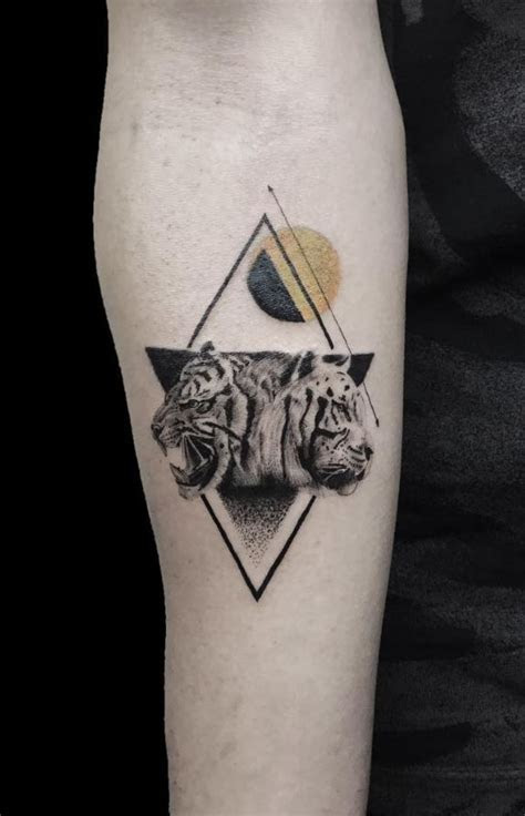 small tigers tattoo small forearm tattoos tiger tattoo