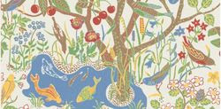 fabric designed by Josef Frank