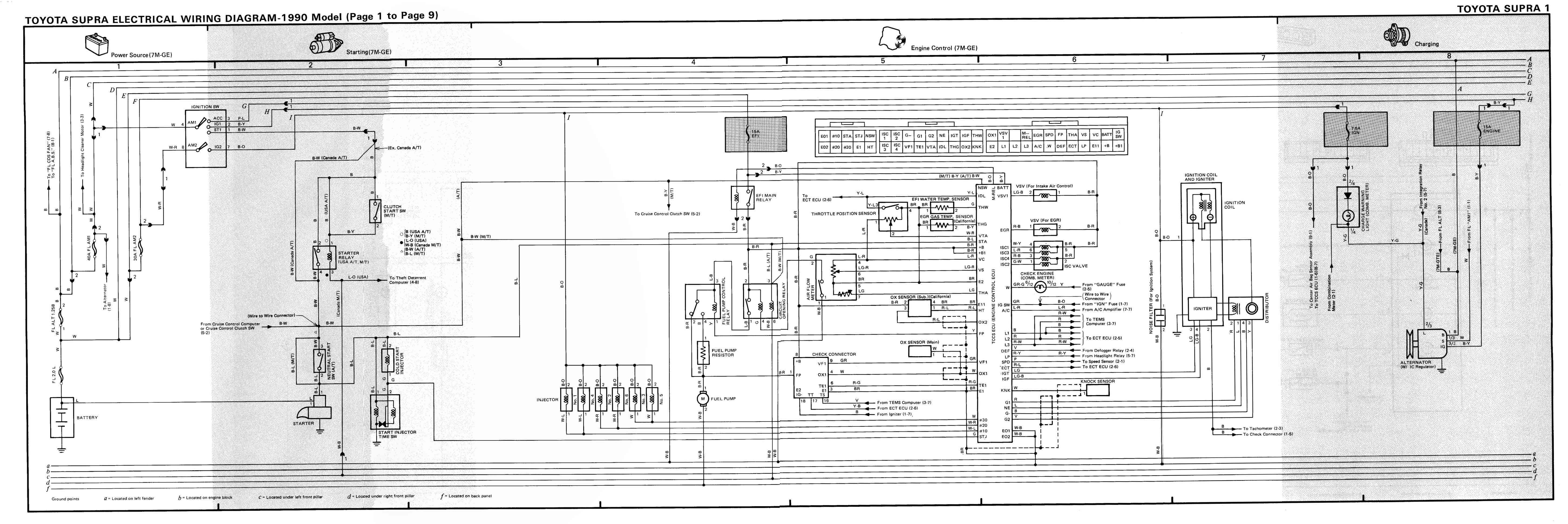 Mk3 Supra Tsrm Toyota Supra Repair Manual Links Downloads