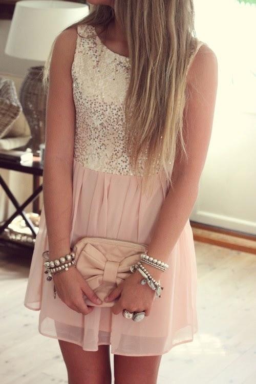 Vestido rosa de dama de honor de