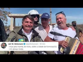 Pela manhã de supetão, Bolsonaro de moto, visita a cidade de Formosa/GO veja a reação das pessoas