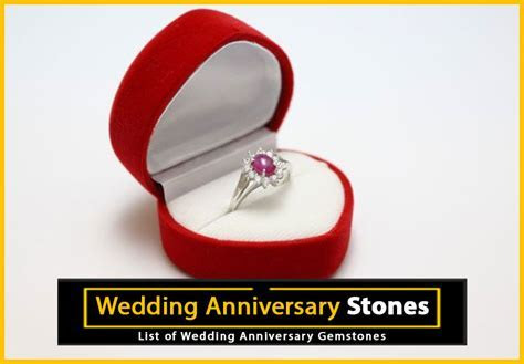 Find Out What Gemstone to Buy on Your Anniversary