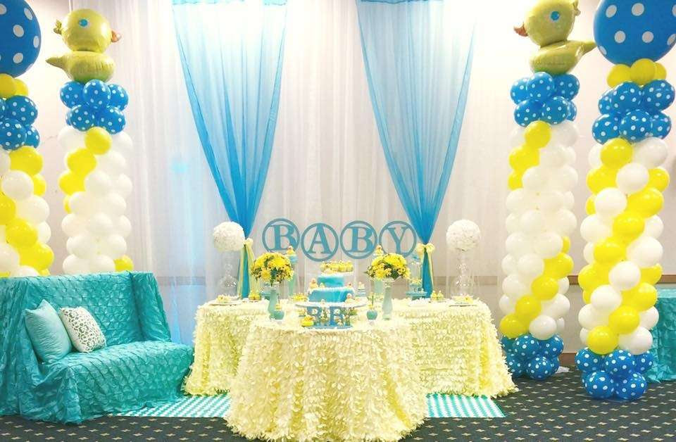 Rubber Duck Baby Shower Centerpiece Ideas Image Cabinets And