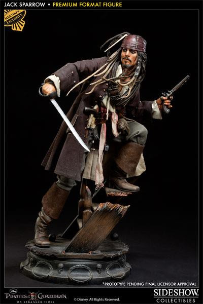 Jack Sparrow, Pirates of the Caribbean, Sideshow