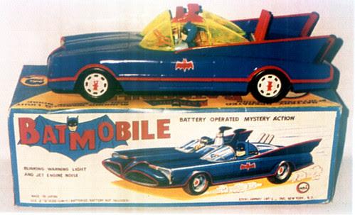 blue batmobile