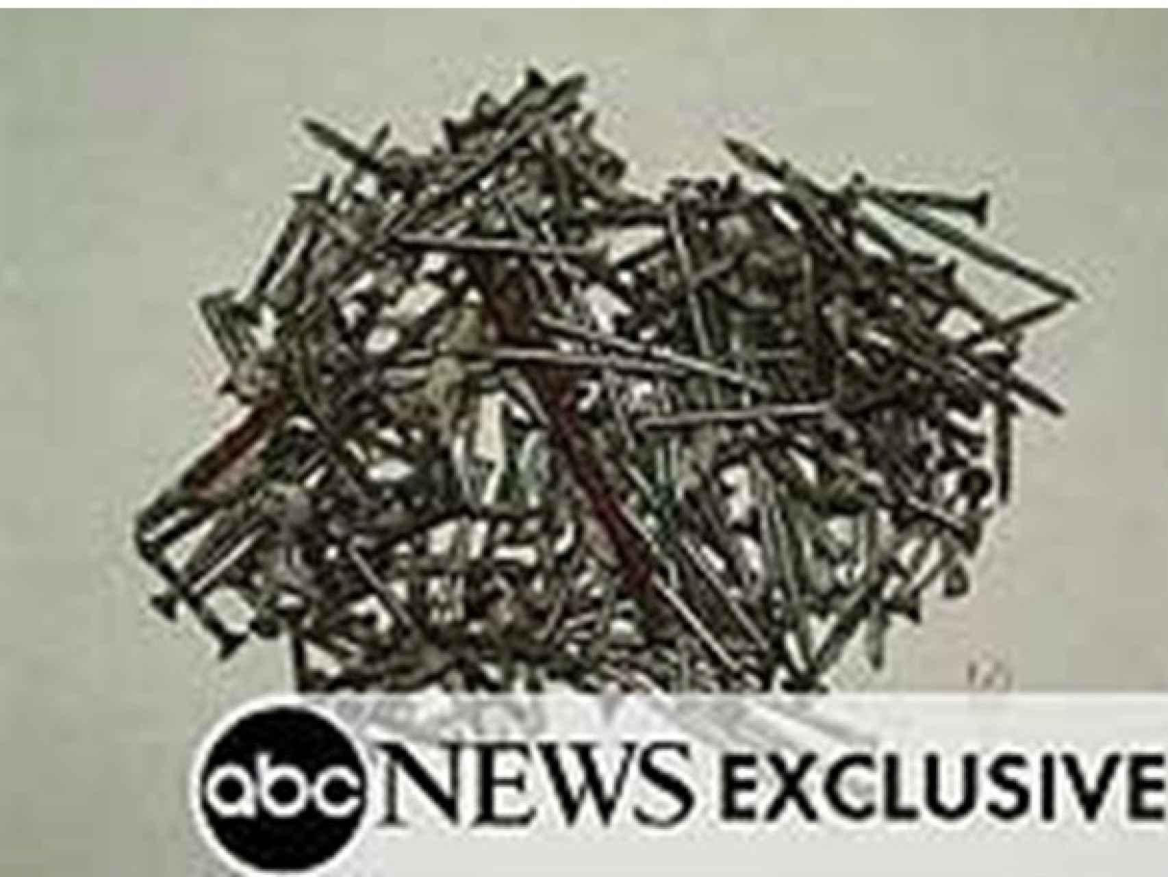 Foto publicada por la cadena de televisión abc news el 30 de marzo de 2004, que es la misma que utilizaron los Tedax en su informe de 11 de junio.