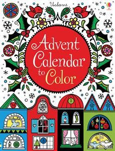 Picture of Advent Calendar to Color