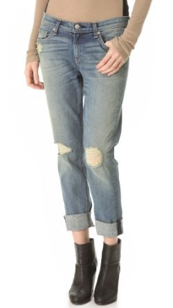 Rag and Bone/JEAN The Dash Slouchy Skinny Jeans