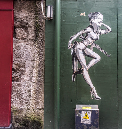 Street Art And Graffiti In Cork by infomatique