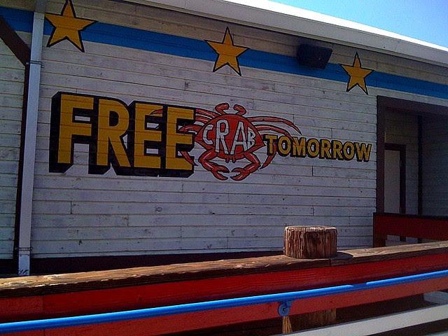 Free Crab Tomorrow