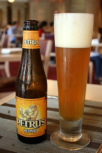 Petrus Blond, a very tasty Belgian beer