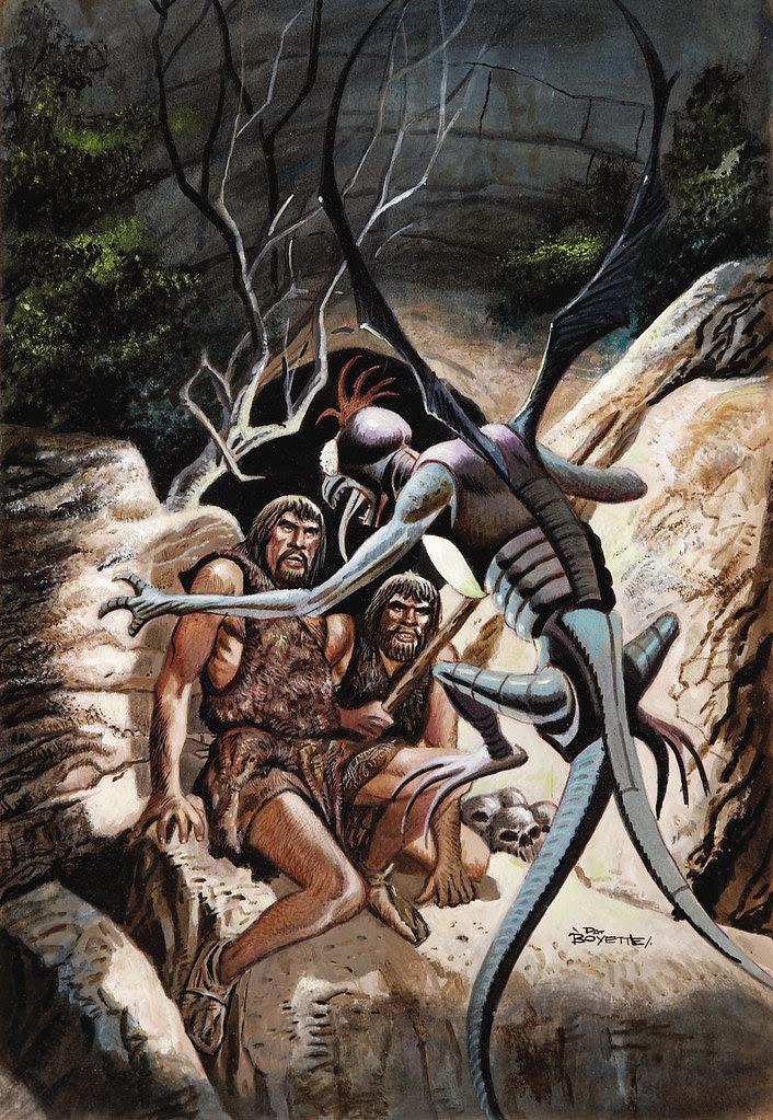Pat Boyette - Korg: 70,000 B.C. #4