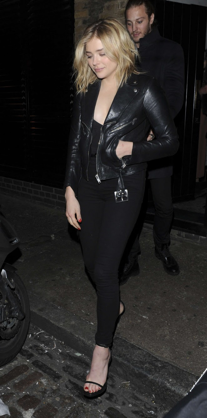 Chloe Moretz: Leaves the Chiltern Firehouse -04