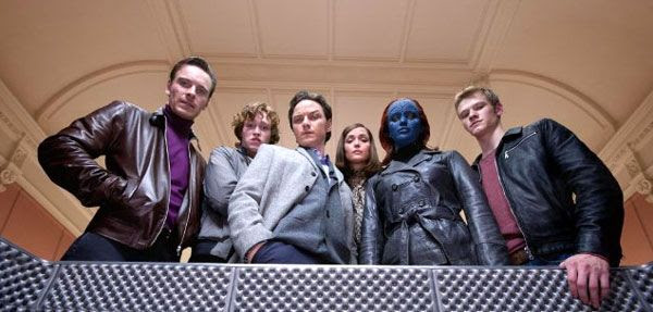 Eric Lensherr, Professor Charles Xavier and Co. in X-MEN: FIRST CLASS.