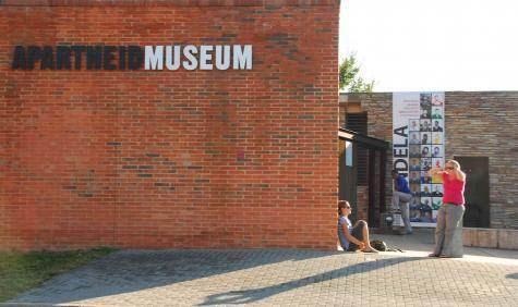 Le musée de l'Apartheid à Johannesburg