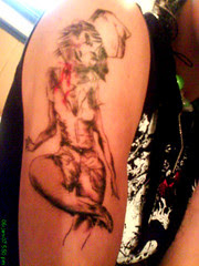 Storme's Silent Hill tattoo
