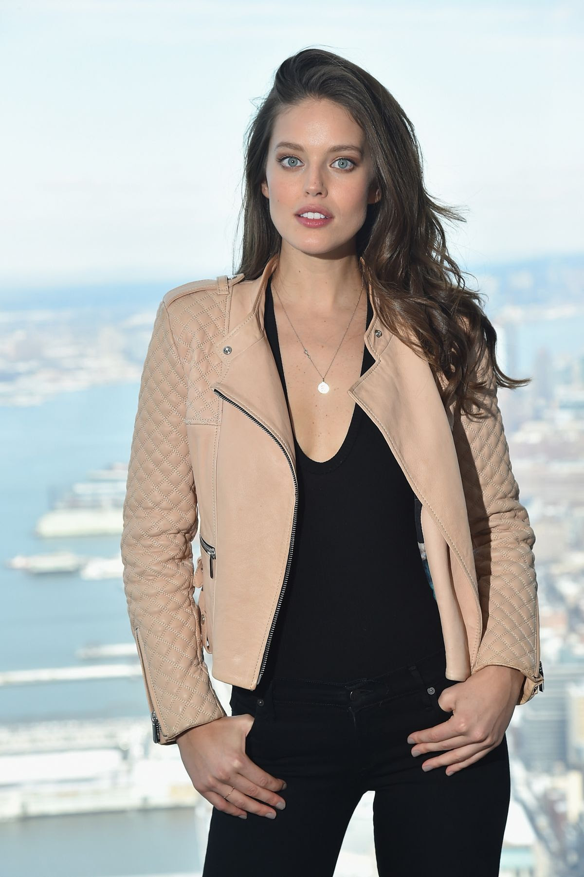 EMILY DIDONATO at Sports Illustrated Swimsuit Press Conference in New York 01/27/2016