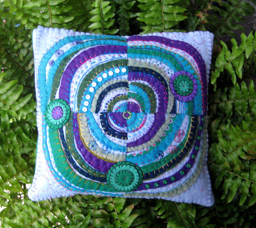 circles pillow