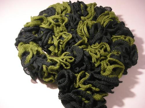 ruffle scarf