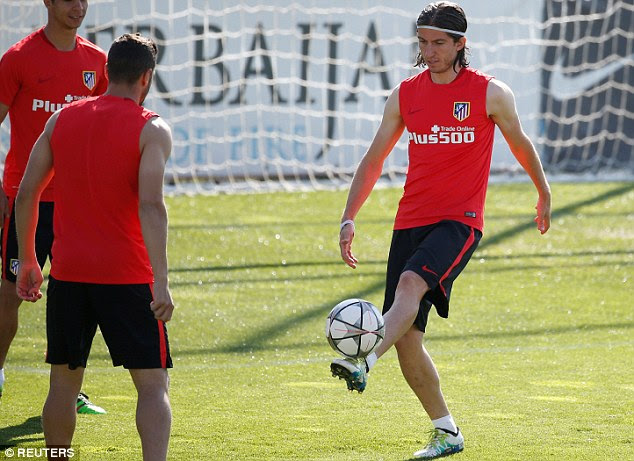 Filipe Luis has really shone at Atletico this season and this final game of the season could be a defining one