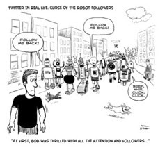 Twitter In Real Life Cartoon by HubSpot