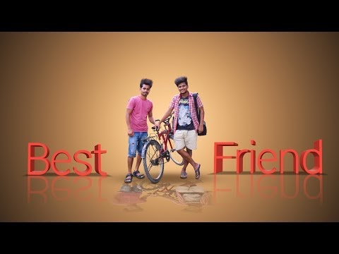 Best Friends Gift for birthday and Friendship day Photoshop Tutorial
