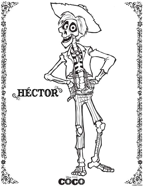 Disney Coco Hector