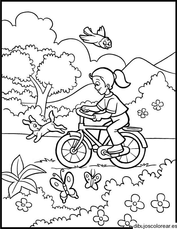 Paisajes De Primavera Para Pintar Az Dibujos Para Colorear