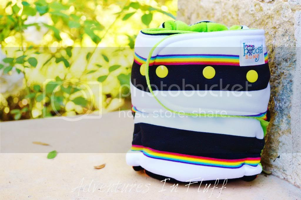 boogieBUMS One-Size Hybrid Fitted Cloth Diaper