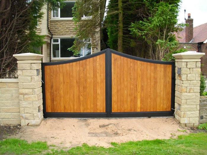 Gate Designs: Metal And Wood Gates