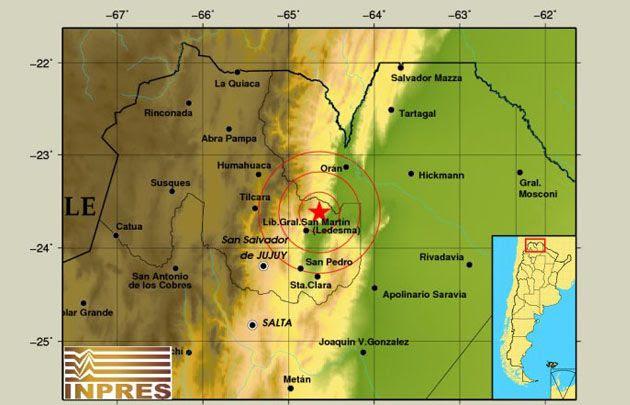 Dos fuertes sismos sacudieron el norte argentino