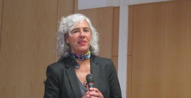 La magistrada y presidenta de la Sala de lo Social del Tribunal Superior de Justicia del País Vasco, Garbiñe Biurrun. EUROPA PRESS.