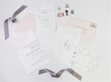 Dodeline Wedding Invitations, Charleston graphic design