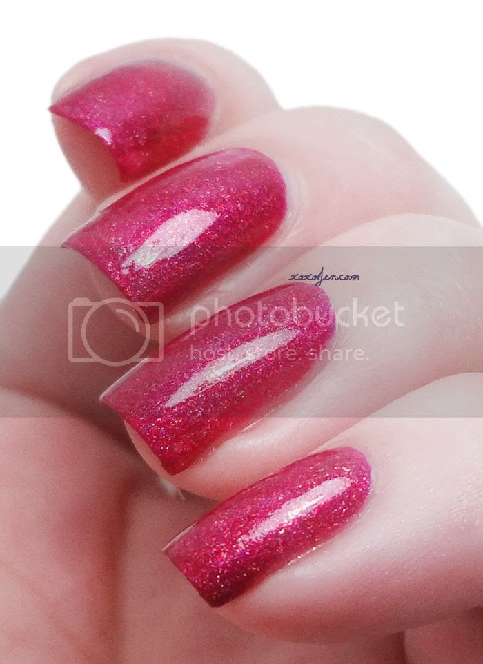 xoxoJen's swatch of Glam Polish Bad Santa
