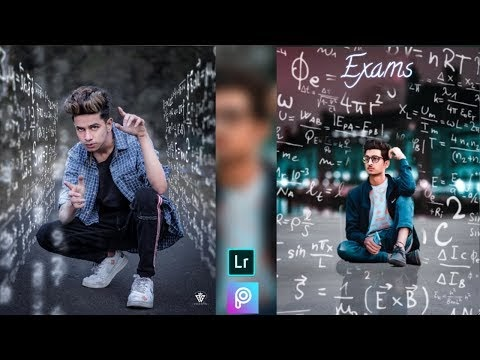 Picsart Exam Photo Editing Tutorial, Picsart Manipulation Editing || Ak ...