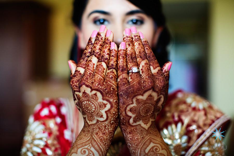 Mehndi Bridal Photography : Indian wedding mehndi design photo