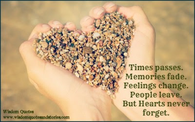 Hearts Never Forget Wisdom Quotes Stories