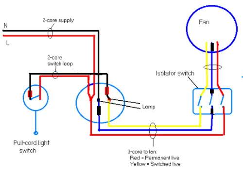 Diagram For Wiring Bathroom Fan And Light - Wiring Diagram | Bathroom Ceiling Fan Wiring Diagram |  | cars-trucks24.blogspot.com