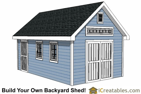 Shed Plans Easy 12x16 Shed Plans And Material List