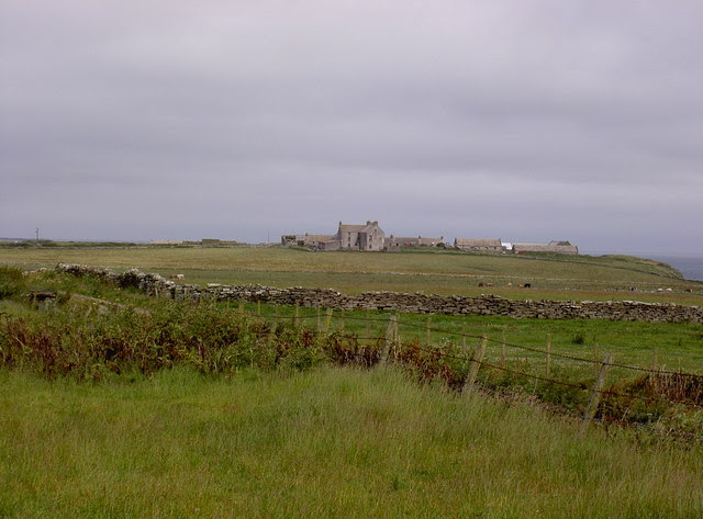 File:Farm and lands at Cleat, Westray - geograph.org.uk - 493486.jpg