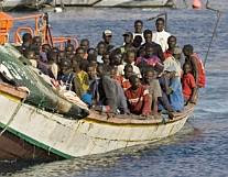 Illegal African immigrants