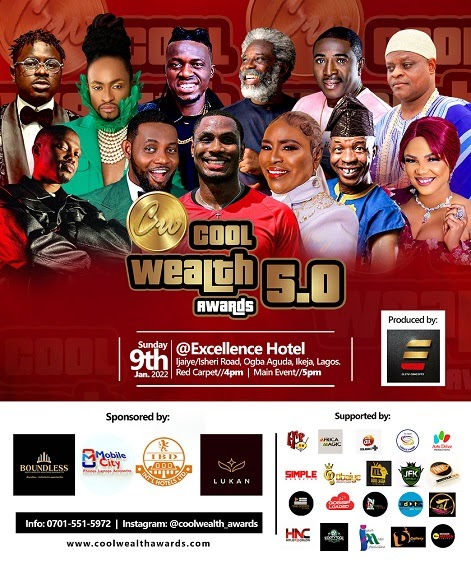 """[BangHitz] The prestigious """"COOL WEALTH AWARDS"""" is back Again with its 5.0 Edition"""